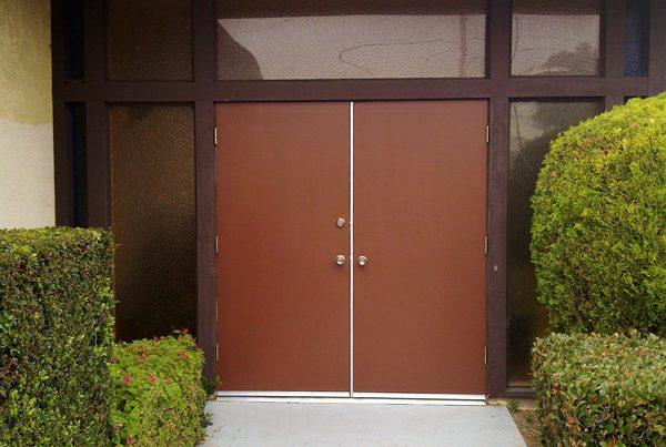 Door repainting