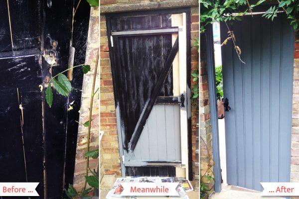 Gate painting and repairing